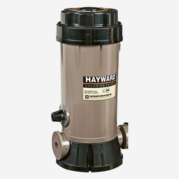Hayward Inline Chlorine Tab Feeder | Dolphin Pacific Pool Supplies