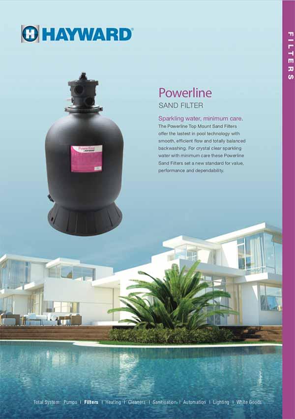 Hayward Powerline Pool Sand Filters Manual