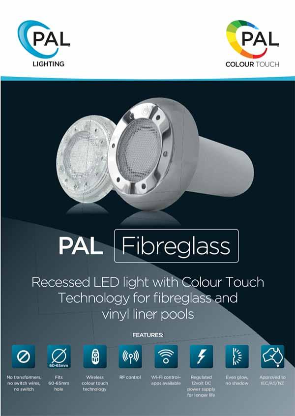 PAL Lighting LED Pool Lights Manual