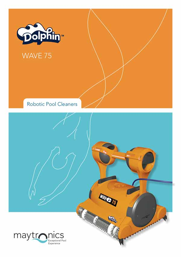 Pool Cleaner Manual Dolphin Maytronics Wave 75