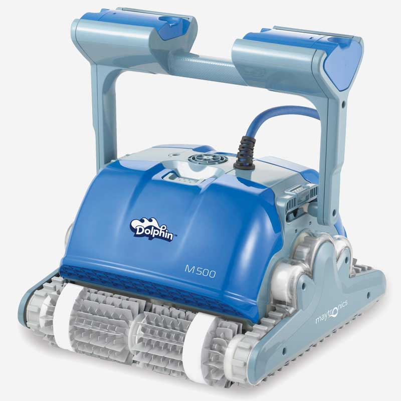 Dolphin-M500-robotic-pool-cleaner